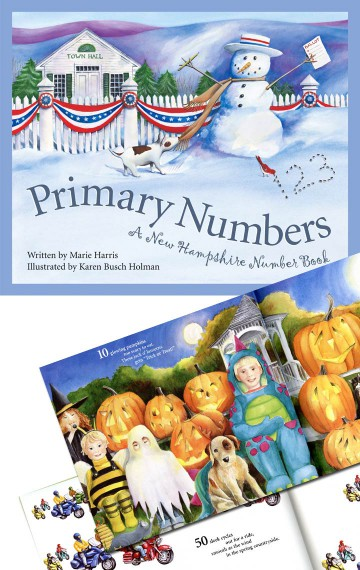 PRIMARY NUMBERS: A New Hampshire Numbers Book