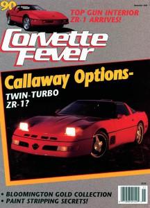 CORVETTE FEVER November 1989