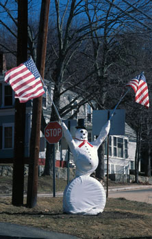 All American Snowman